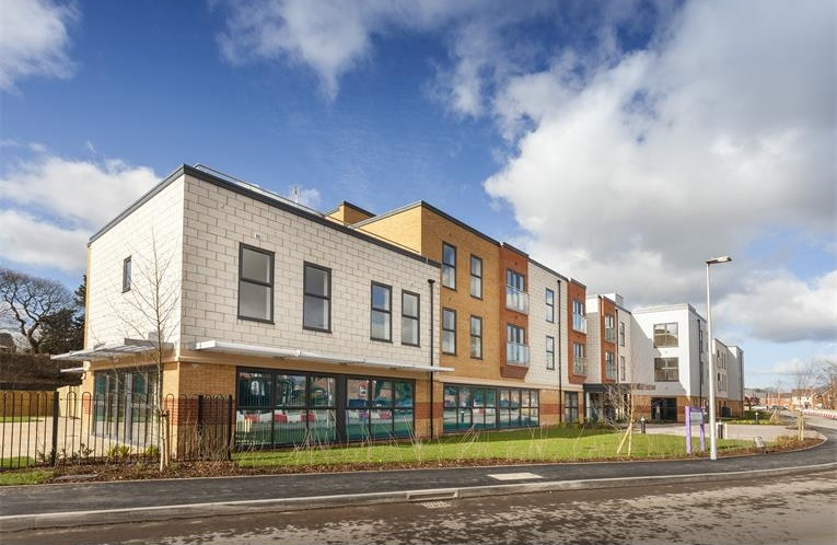 External view of one of our extra care homes